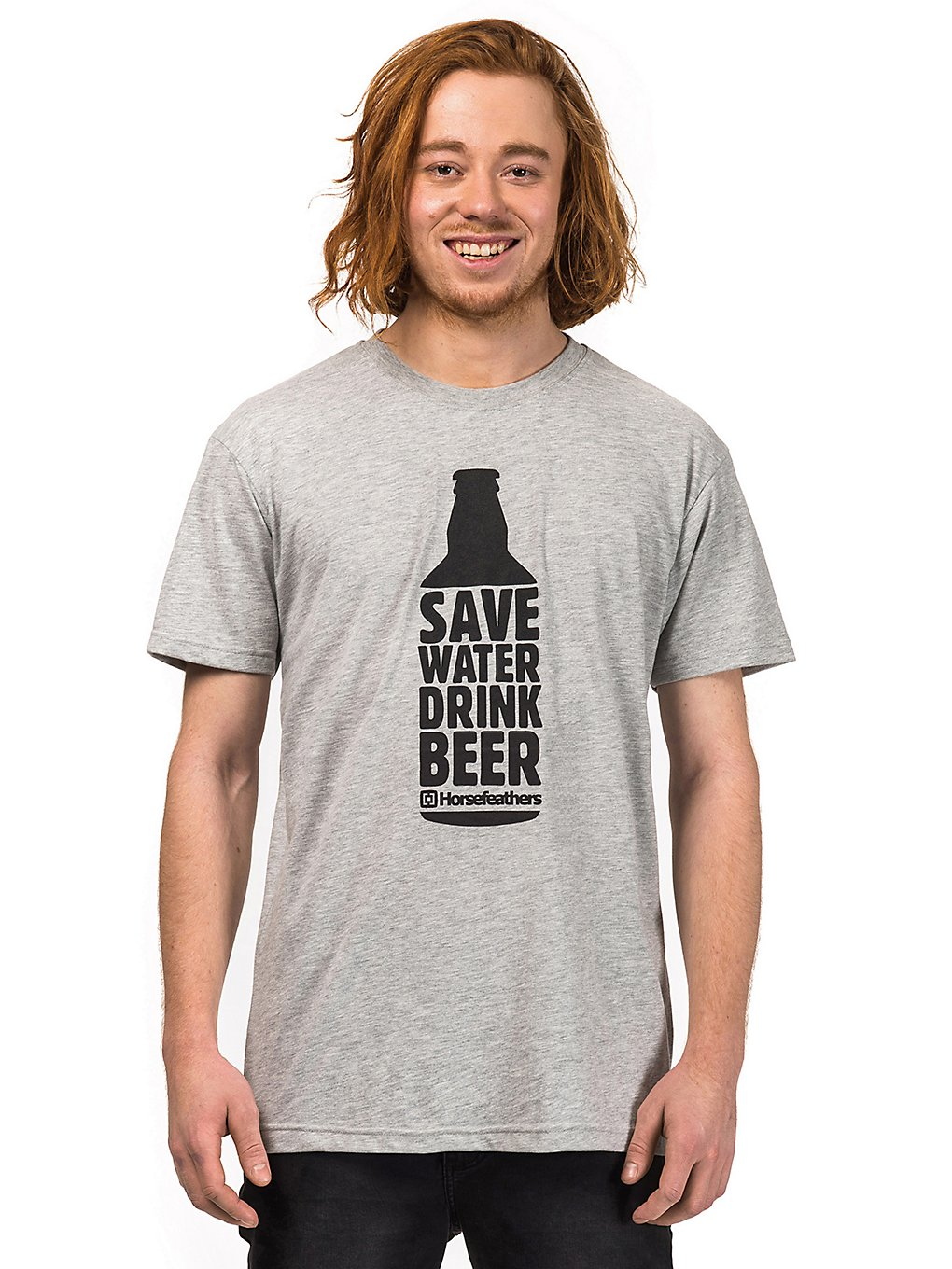 Horsefeathers Save Water T-Shirt