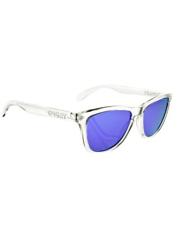 Oakley Frogskin polished clear Sonnenbrille