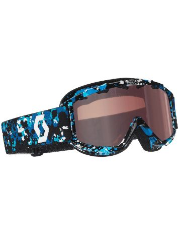 Scott JR Hookup Hydro Speckle Black/Blue Youth Goggle