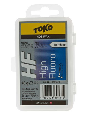 Toko HF Hot Wax blue 40g