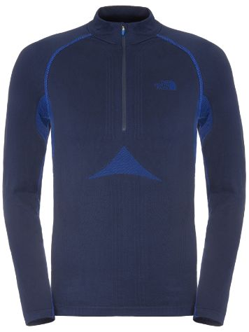 THE NORTH FACE Hybrid Zip Neck Tech t-shirt LS