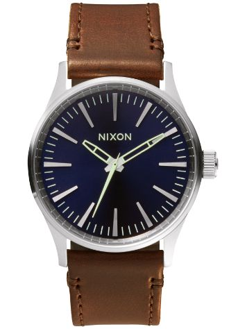 Nixon The Sentry 38 Leather Reloj