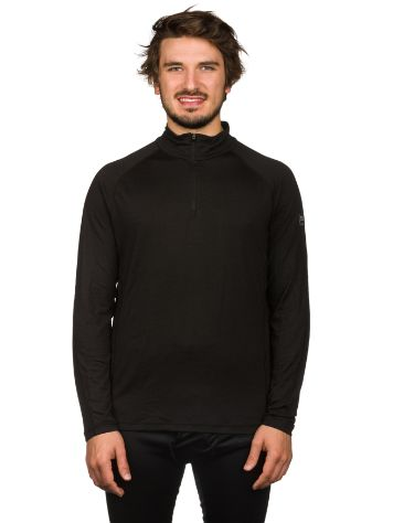 super.natural Base 1/4 Zip 230 Camiseta técnica LS