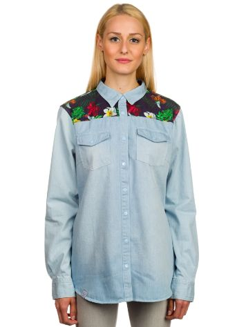 Blue Tomato BT Flower Shirt LS