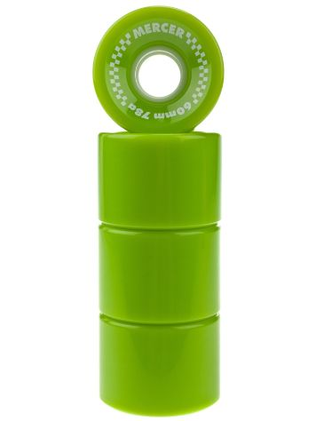 Mercer Lime Green 60mm 78A Rollen
