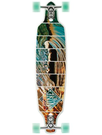 "Sector 9 Fractal 36"" x 9"" white Complete"