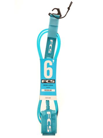 FCS Regular 6' 7mm Teal Leash