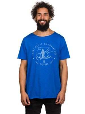 Picture Everyday T-Shirt picture blue Gr. S
