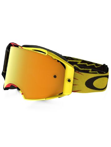 Oakley Airbrake Mx High Voltage Red/Yellow
