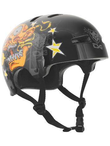 TSG Evolution Art Design Goldbeck Skateboard helm