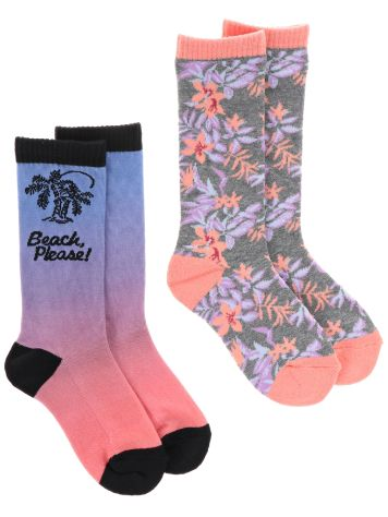 Empyre Girls Beach Please Sublimated Socks