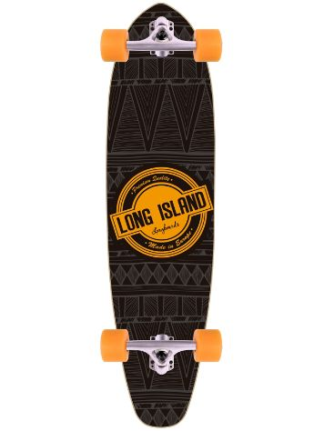 "Long Island Longboards Kicktail TM 9.5"" x 37"" Complete"