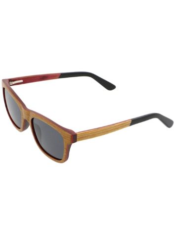 Woodstock Mountain Golden Teak Sonnenbrille