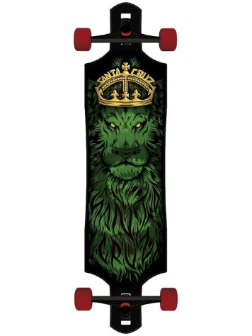 "Santa Cruz Lion God Drop Thru Cruzer 10"" Longboard"