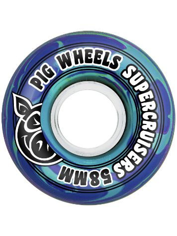 Pig Wheels Supercruiser Swirl 85A 58mm Ruedas