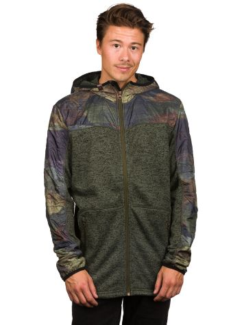 Quiksilver Lodge Fleece Zip Hoodie
