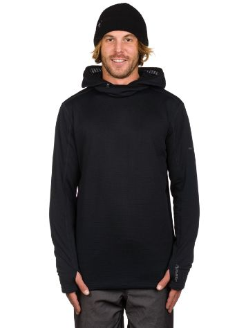 Quiksilver Log Hood Fleece Tech Tee LS