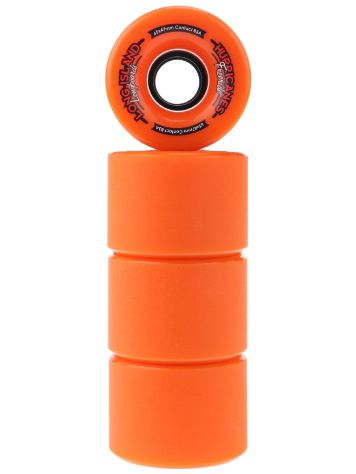 Long Island Longboards Freeride Orange 83A 65x47mm Rollen