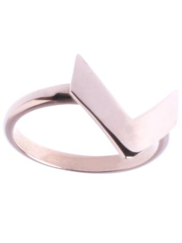 Epic Arrow Small Plain Ring