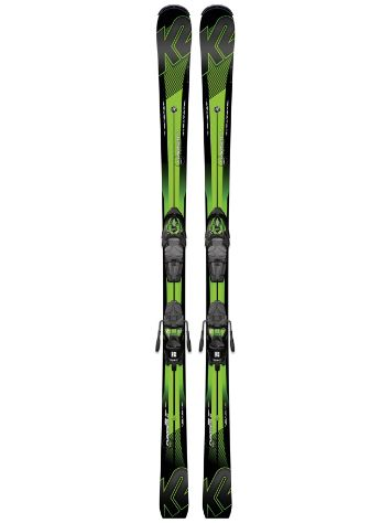 K2 Charger M3 11 Tcx Light 161 Set 2017 Freeski-Set