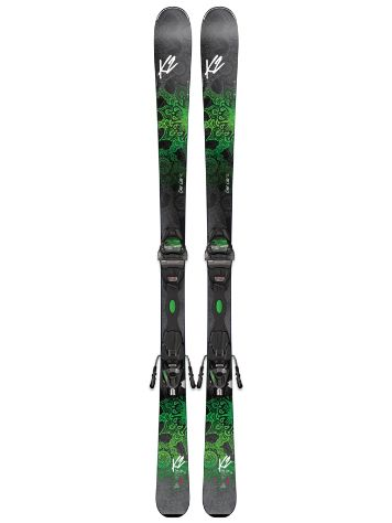 K2 One Luv 74 Er3 10 Compact Quikclik 160 S Freeski-Set