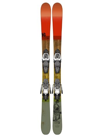 K2 Poacher Jr Fastrak2 7 129 2017 Freeski-Set