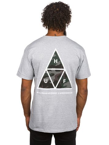 HUF Muted Military Triple Triangle Camiseta