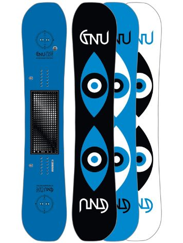 Gnu Forest Bailey Space Case 159 Ass XC2 2017 Snowboard