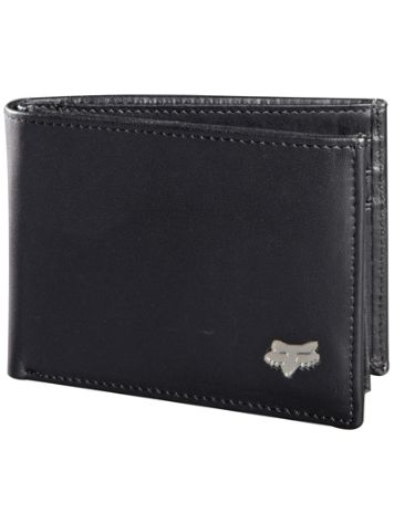 Fox Leather Bifold Geldbörse