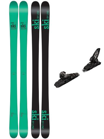 Line Honey Badger 172 + Griffon 13 90mm black 2017 Freeski-Set