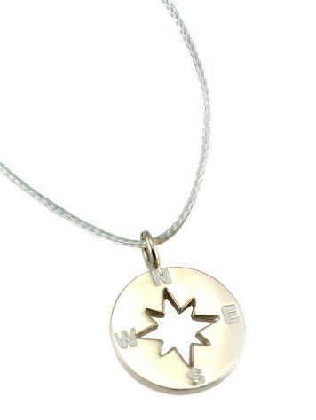 SilverSurf Wind Rose S Necklace