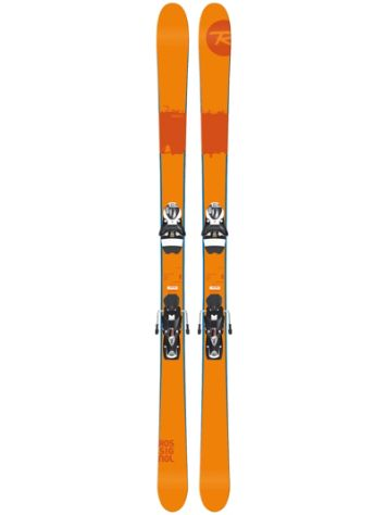 Rossignol Scratch 167 + SPX12 Dual WTR B90 Black/ White 2017 Freeski-Set