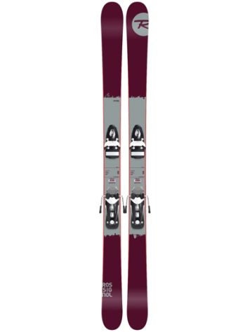 Rossignol Storm 180 + NX11 B93 Black/White 2017 Freeski-Set