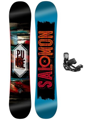 Salomon Pulse 160 + Pact 2017 Snowboard Set