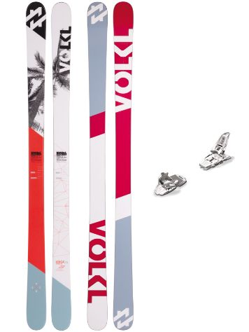 Völkl Ledge 179 + Squire 11 90mm White 2017 Freeski-Set
