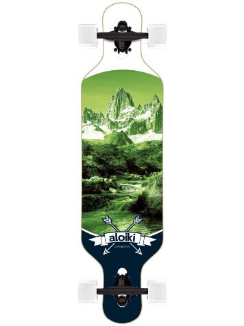 "Aloiki Longboards Alps 9.2"" x 36"" DT Complete"