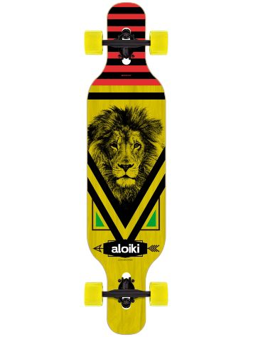 "Aloiki Longboards Lion 9.5"" x 40"" DT Complete"