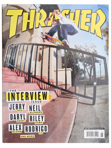 Thrasher Thrasher Issue 2016 May
