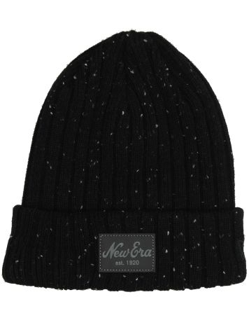 New Era Flecked Suede Cuff Beanie