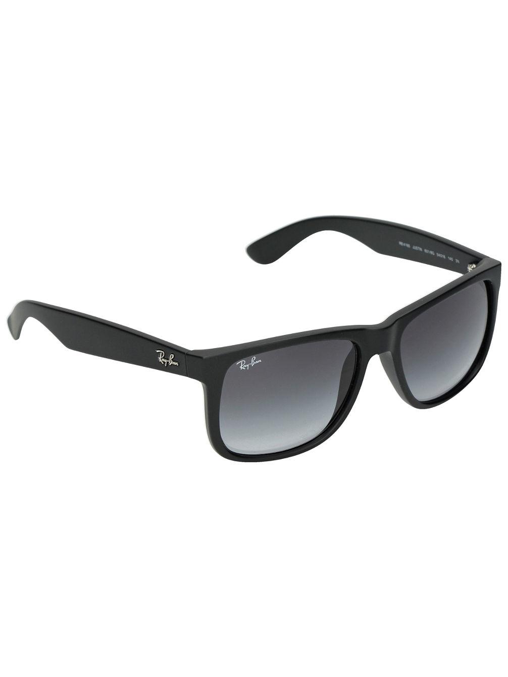 127c7f0ccf Ray Ban Justin Rubber Black PolyGreyGradient Sonnenbrille online kaufen bei  www.cinemas93.org