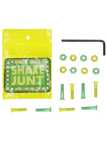 Shake Junt All Green Yellow Inbus 7/8'' Bolts