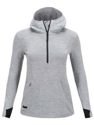 Peak Performance Civil Mid Hood Outdoor Jacket med grey mel Gr. S