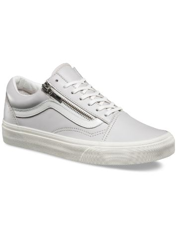 Vans Leather Old Skool Zip Sneakers