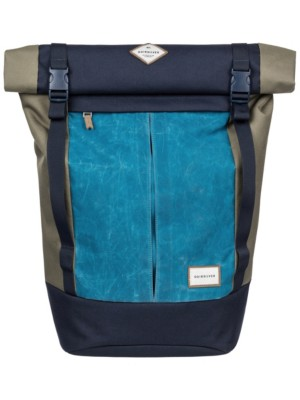 Quiksilver New Roll Top Backpack four leaf clover Gr. Uni