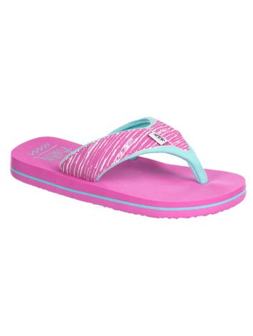 Animal Swish Upper AOP Sandals Girls