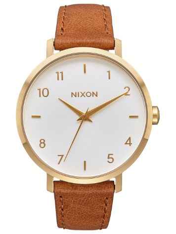 Nixon The Arrow Leather Horloge