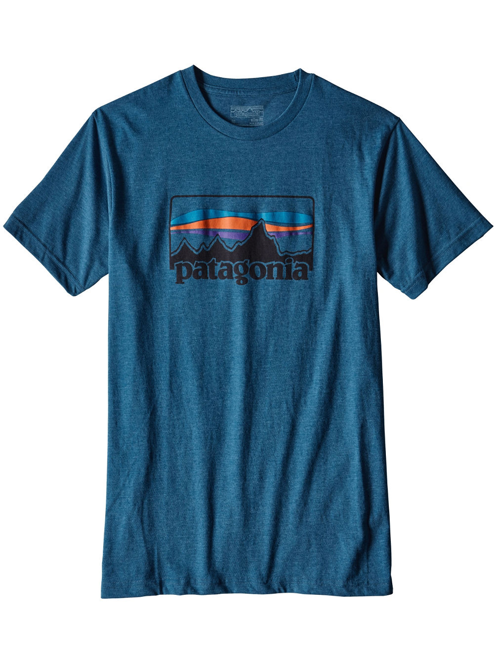 Buy patagonia 73 logo t shirt online at blue for Where to order shirts with logos