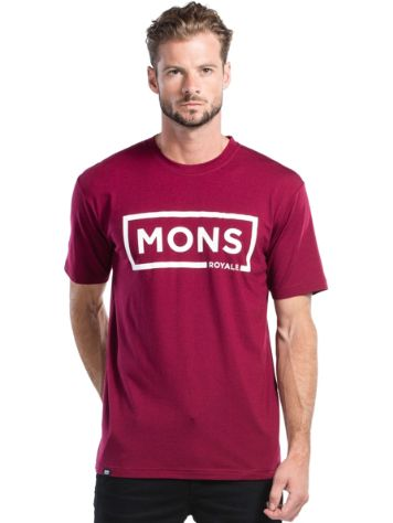 Mons Royale Icon Box Logo T-Shirt