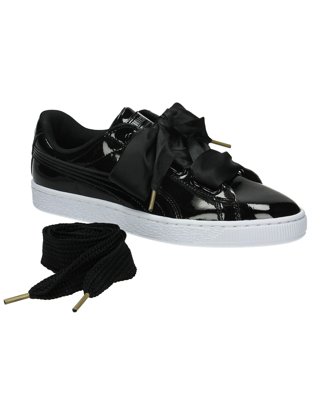 buy puma basket heart patent sneakers women online at blue. Black Bedroom Furniture Sets. Home Design Ideas