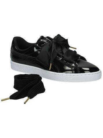 Puma Basket Heart Patent Sneakers Women